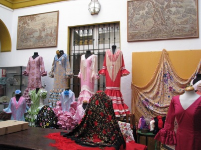 The Sevilla flamenco costume couturiers.